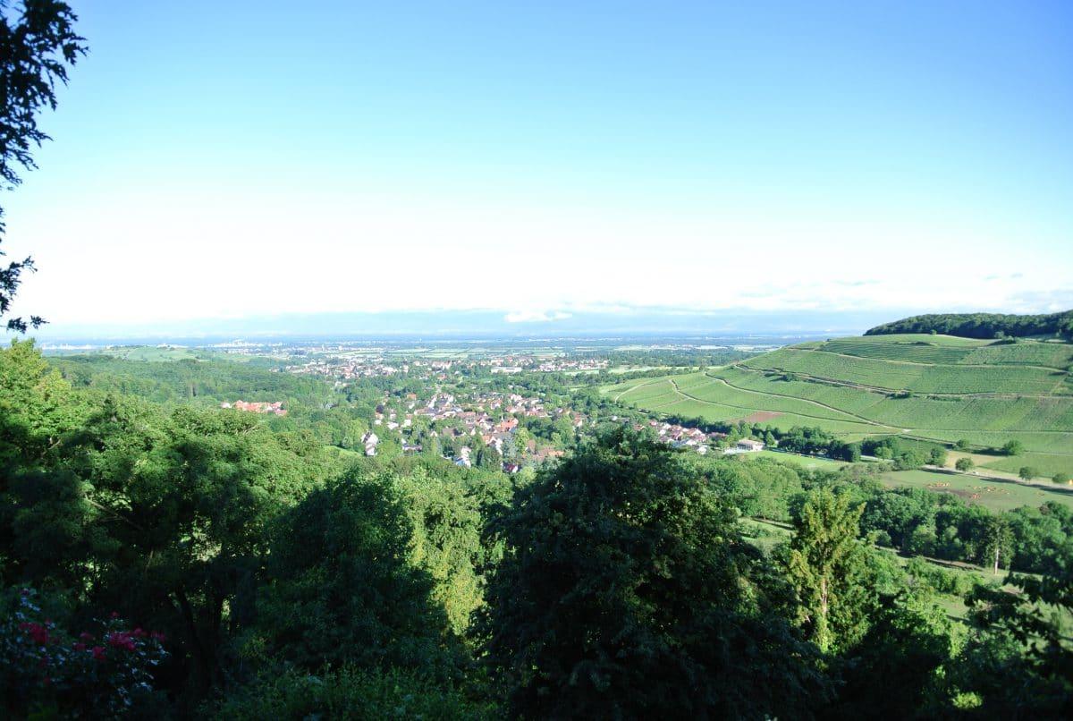 Über das Weilertal in die Rheinebene
