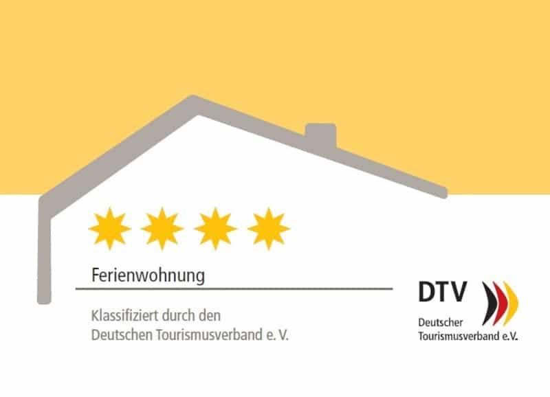 apartment mit 3 DTV Sternen